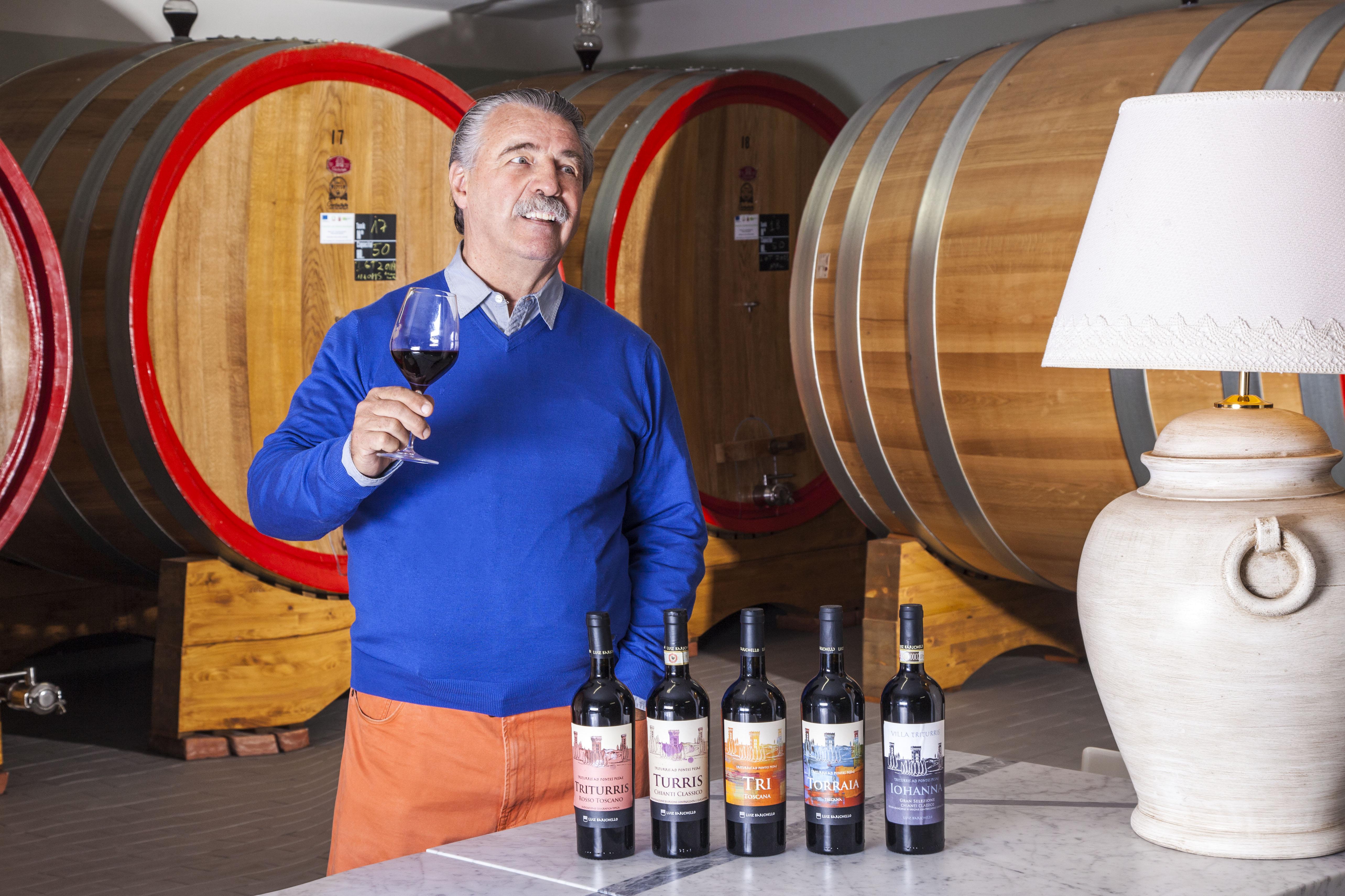 Luiz Barichello Villa Triturris tasting